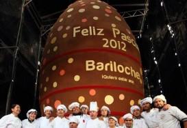 Шоколадное пасхальное яйцо