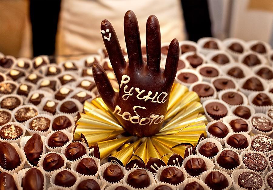 Фестиваль шоколада в Киеве