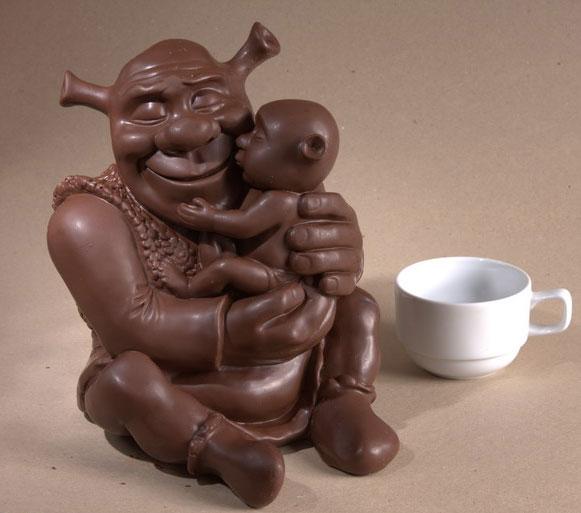 Фигурка из шоколада своими руками