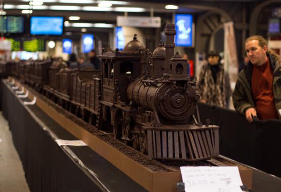 Шоколадный поезд. Бельгия