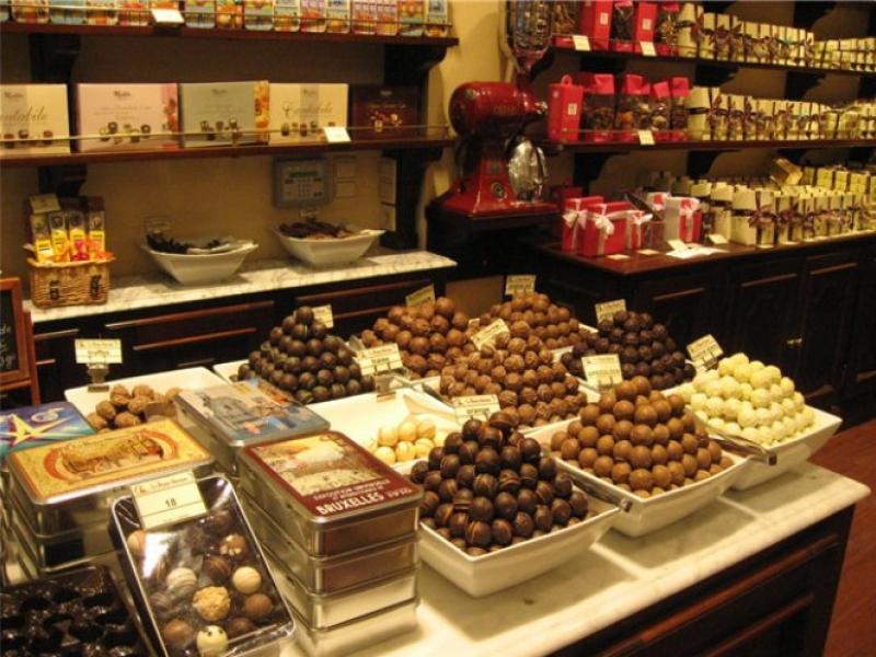 Перудже в дни шоколадного праздника можно попробовать абсолютно все, что только изготавливали из шоколада