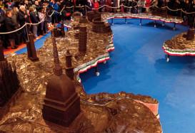 Шоколадные скульптуры невероятной сложности и красоты