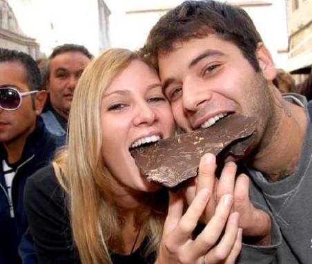 У вас останутся лучшие впечатления от посещения Перуджи в дни шоколада