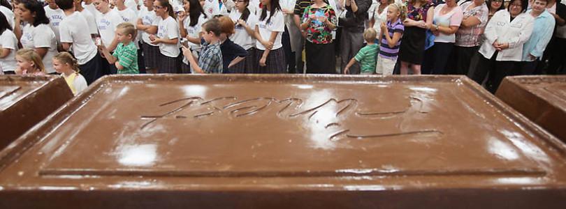 Американская плитка шоколада