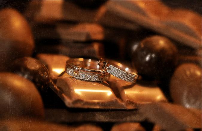 Шоколад на свадьбе