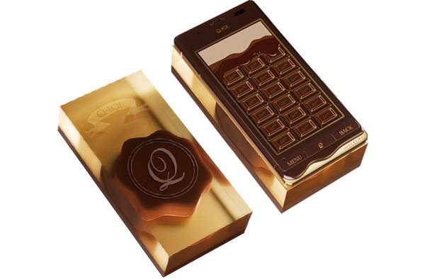 Шоколадный мобильный телефон