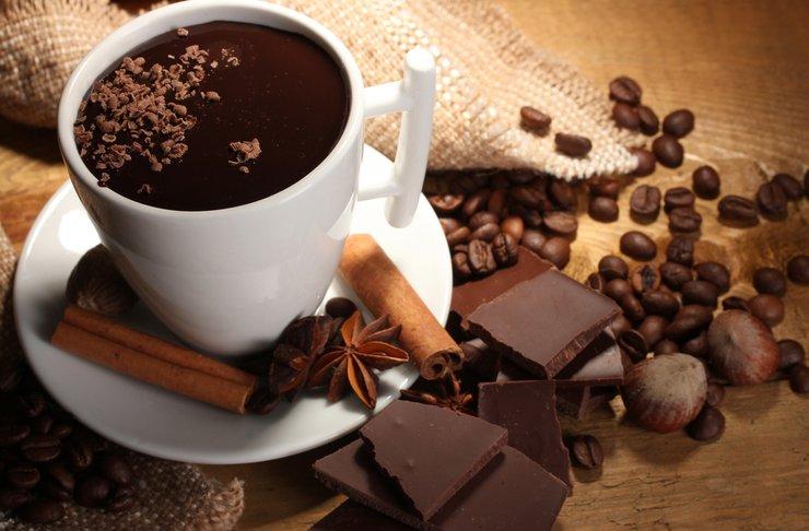 Интересные рецепты горячего шоколада