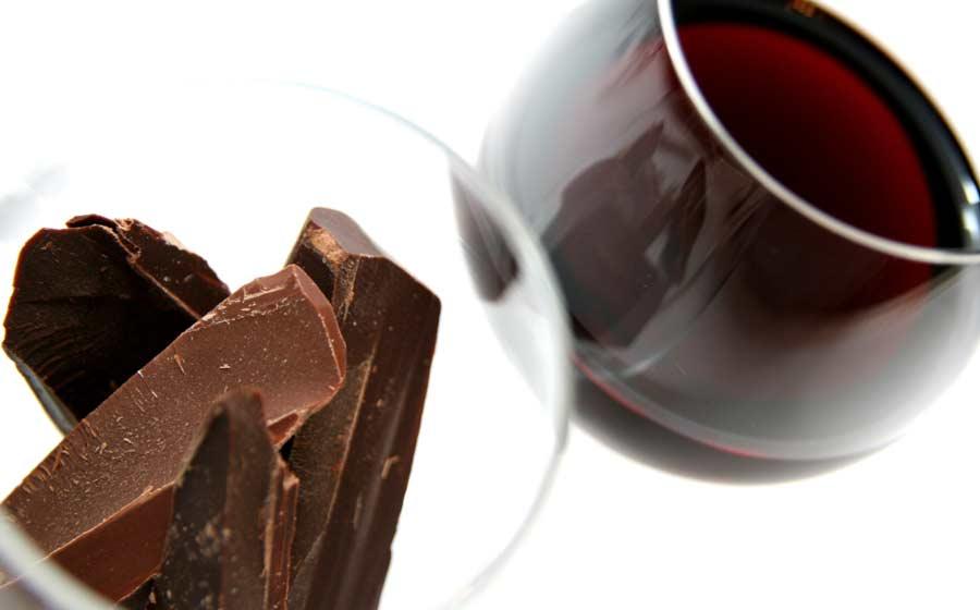 Шоколад и вино – возможно ли это?