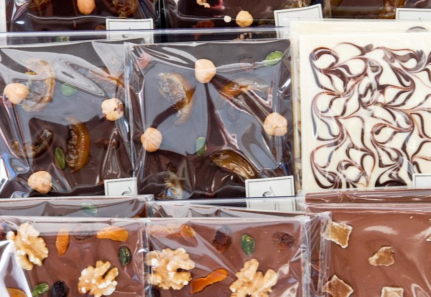Шоколад с различными добавками