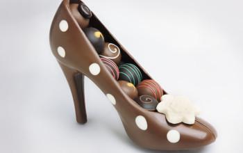 Обувь из шоколада