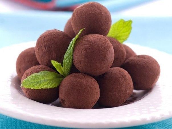 рецепт с фото трюфели шоколадные