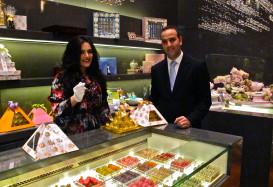 Международный фестиваль шоколада в Дубаях