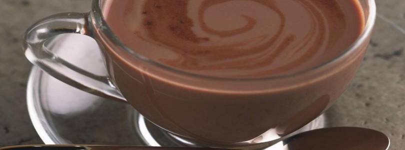 Самая большая чашка горячего шоколада