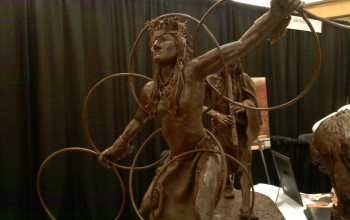 Шоколадные скульптуры. Часть 1