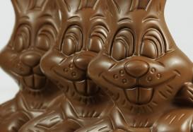 Самый большой шоколадный заяц