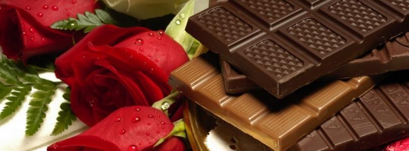 Шоколад на День всех Влюбленных. Шоколадные подарки на День Св. Валентина.