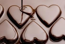 Самое большое шоколадное сердце