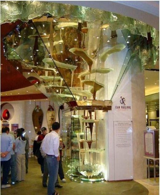 Шоколадный фонтан в Лас-Вегасе