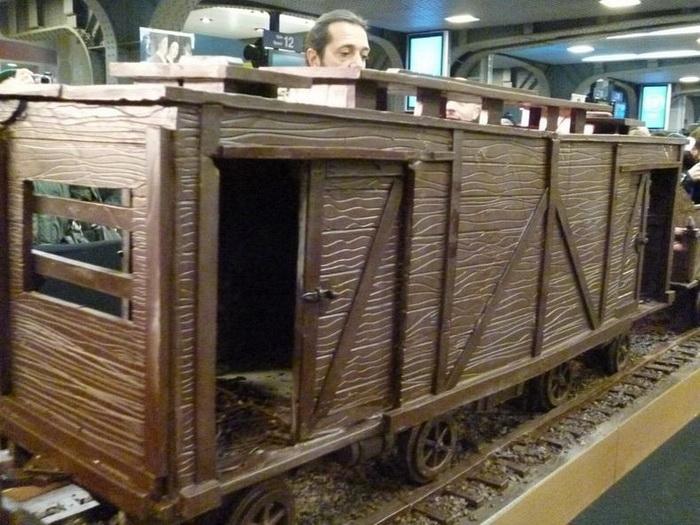 Шоколадный поезд, Бельгия