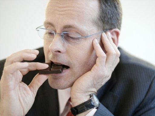 Шоколад – это и официальный подарок тоже