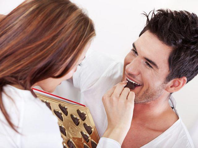 Выбирите шоколад своему мужчине