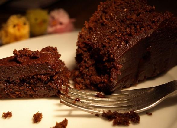 Классический шоколадный пирог