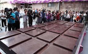 Армянский шоколад - первый рекордсмен