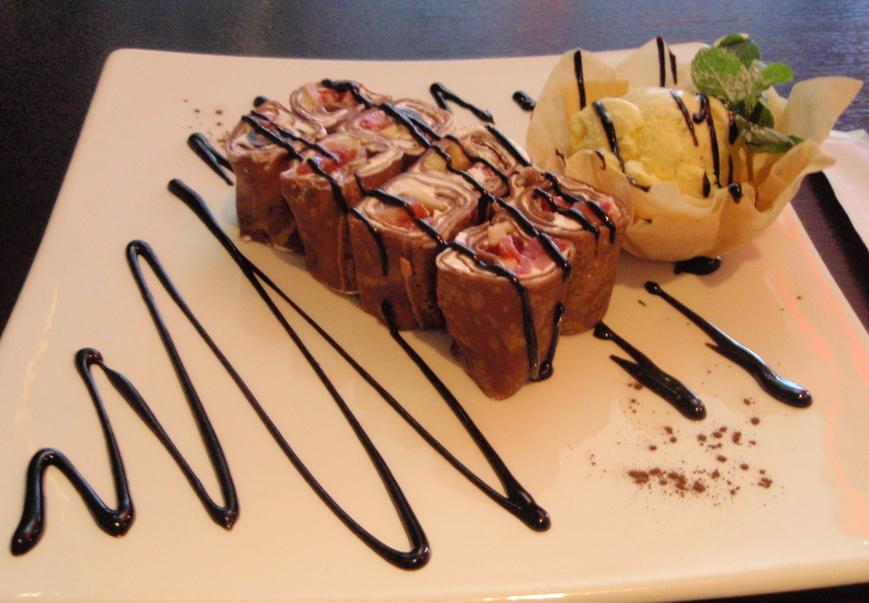 Шоколадные суши