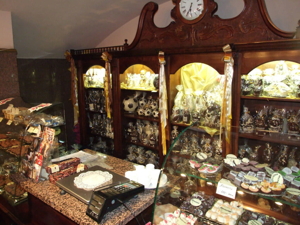 Музей шоколада в питере фото