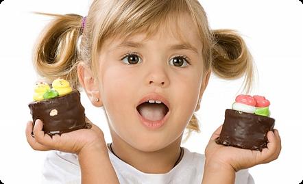 Шоколад для детей: не навредить!