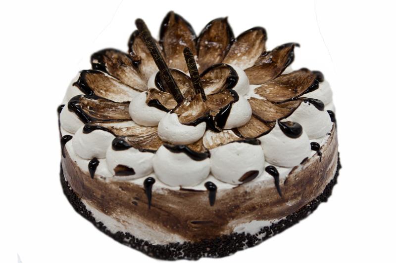 Украсить торт шоколадом