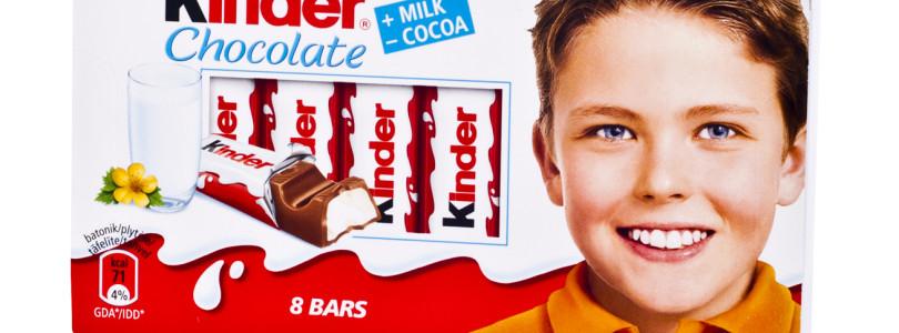 Киндер. Шоколад для детей и не только